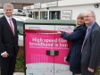 Harriett Baldwin MP switches on new Malvern fibre cabinet