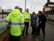 Harriett Baldwin leads Prime Minister David Cameron on a visit to Upton