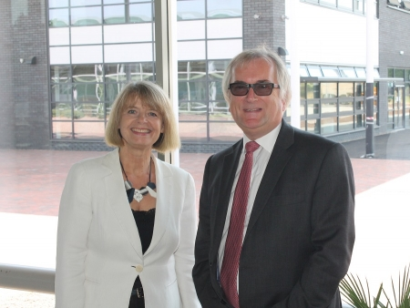 Harriett Baldwin MP with CrossCountry managing director Andy Cooper