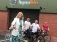 Harriett Baldwin MP visits Aquabio to chat to staff who commute by cycling
