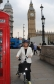 Harriett Baldwin MP marks cycle to work day in Westminster