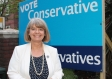 Harriett Baldwin takes her nomination papers to Malvern Hills District Council