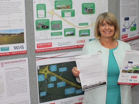 Harriett Baldwin MP urges local people to comment on Carrington Road bridge plan