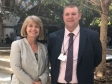 Harriett Baldwin MP meets with Chiltern Railways MD Dave Penney