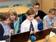 Harriett Baldwin visits an after-school club which teaches computer coding.