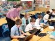 Harriett Baldwin visits 'Brilliant Brains' after-school coding club at Malvern Wells Primary School