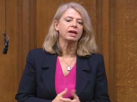 Harriett Baldwin MP speaking in the House of Commons