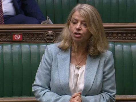 Harriett Baldwin speaking in the House of Commons