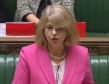 Harriett Baldwin speaking in the House of Commons, Nov 2018, Interpol