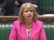 Harriett Baldwin speaking in the House of Commons, Nov 2018, Ebola