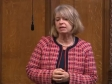 Harriett Baldwin MP speaking in the House of Commons, Feb 2020, Flooding