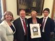 Harriett Baldwin MP, Geoffrey Clifton-Brown MP, Liz Eyre, Rory Stewart MP