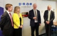 Malvern Hills Science Park: Alan White, Harriett Baldwin MP, David Willetts MP, Simon Geraghty