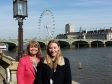 Harriett Baldwin MP and Ellie Fleming pictured together on the House of Commons terrace