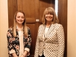 Harriett Baldwin with Jennifer Elsey at the Houses of Parliament
