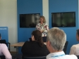 Harriett Baldwin holds an EU Q&A session at QinetiQ in Malvern