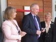 Cabinet Office Minister Francis Maude opens the country's first 'dirty lab' set up in Malvern Hills Science Park