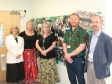 Harriett Baldwin MP tours Great Malvern Primary School with (l-r) Ev Henderson, Nikki Selby, Chris Hansen, Doug Whitfield
