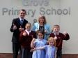 Harriett visits Grove Primary School and Nursery