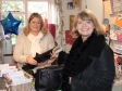 Tenbury MP Harriett Baldwin starts her Xmas shopping at Harlequin Gift Shop on Teme Street