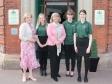 Henry's in Upton: Elisabeth Drake, Helena Dixon, Harriett Baldwin MP, Ellie Hughes, Jess Crook