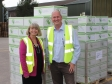Harriett Baldwin MP tours Charles Faram and Co with Managing Director Paul Corbett