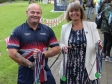 Harriett Baldwin meets with Invictus Games competitor Steven Cokayne