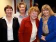 Kyre Day Centre: Ria Baxter, Ruth Felce, Marie Higginson and Harriett Baldwin