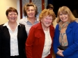 (l-r) Ria Baxter, Ruth Felce, Marie Higginson, Harriett Baldwin MP