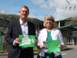 Malvern Hills Science Park, Mark Stansfeld and Harriett Baldwin MP.