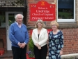 Lindridge Primary School: Bill Andrewes, Harriett Baldwin MP and head teacher Julie Page