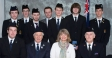Harriett Baldwin with Malvern Boys Brigade Duke of Edinburgh Gold Award winners