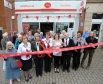 Harriett Baldwin MP joins local shoppers and staff to celebrate the opening of Malvern Link Post Office