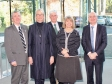 Malvern Hills Science Park: Cllr Phil Grove, Margot James MP, Cllr Ken Pollock, Harriett Baldwin MP, Cllr Simon Geraghty