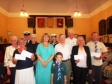 Harriett Baldwin visits Malvern Masonic Hall open day to present cheques to good causes