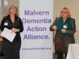 Malvern Dementia Action Alliance launch: Harriett Baldwin MP and Professor Dawn Brooker