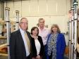 Metrasens visit: John Hooper, Sheila Metherell, Jeremy McCoig-Lees and Harriett Baldwin MP