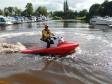 Harriett Baldwin MP launches the River Runner in Upton-upon-Severn