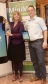 Harriett Baldwin MP and Rob Stringer show off Laser Survey's waterproof map and new app