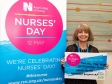 Harriett Baldwin MP makes her own dedication to Worcestershire nurses at the Nurses Day celebration in Westminster