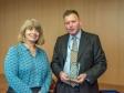 Harriett Baldwin MP meets QinetiQ's Paul Shewry