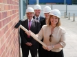 Harriett Baldwin kicks off classroom re-development at Pershore High School