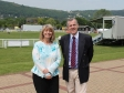Royal Three Counties Show: Harriett Baldwin MP with Malvern Hills District Council leader Phil Grove