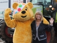 BBC Children in Need's Pudsey meets with Harriett Baldwin MP