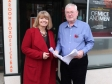 Harriett Baldwin MP is shown plans to improve the Regal Theatre by Trust chairman Peter Drew
