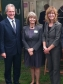 Harriett at the Royal Three Counties Show with Environment Secretary Owen Paterson and Melanie Squires, NFU