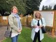 Malvern Hills District Council leader Sarah Rouse and Harriett Baldwin MP