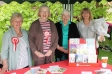 Harriett Baldwin MP visits the Save the Children stand at the annual Newland Fete