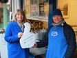 Harriett gives Thumbs Up to Tenbury Small Business Saturday