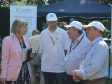Harriett Baldwin MP tours the Science in the Park stands